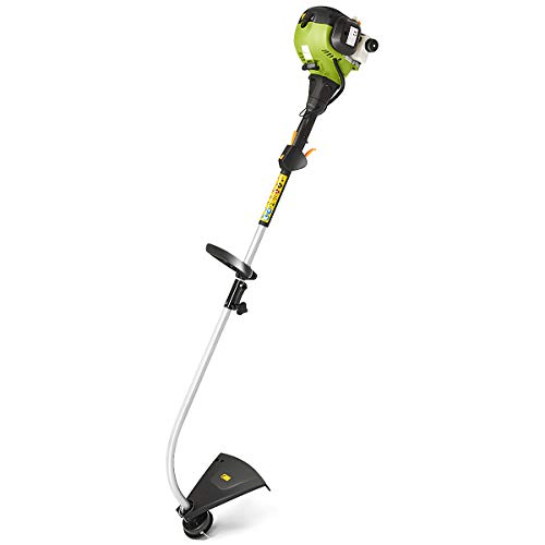COSTWAY Gasoline Grass Trimmer, 800W Weed Strimmer Includes 180°Adjustable Angle Head, 43cm Cutting Path & Telescopic Handle, Lightweight Frame String Trimmer Features Powerful Engine