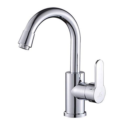 GROHES Hochwertige Moderne Waschbecken Waschbecken Wasserhahn, Chrom Mischbatterien für Küche Garderobe Toilette, heiße und kalte Waschbecken Wasserhahn Set