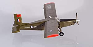 Herpa 580489 Royal Australian Army Aviation Corps Pilatus PC-6 Turbo Porter - Avión en Miniatura para Hacer Manualidades y como Regalo, Multicolor
