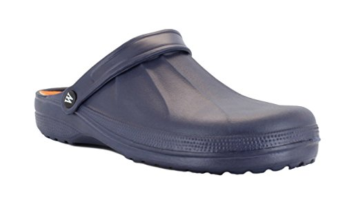 Mens Wetlands Garden Kitchen Hospital Clogs Navy UK 7