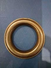 """Almighty Multiples Super Heavy Round Shape Curtain Male-Female Rings 100 pcs (100 male-100 Female) for 1"""" Curtain Rod"""