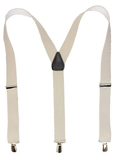 Bretelles de haute qualité avec Clips fort de 35mm   noir bleu royal rouge blanc gris Beige