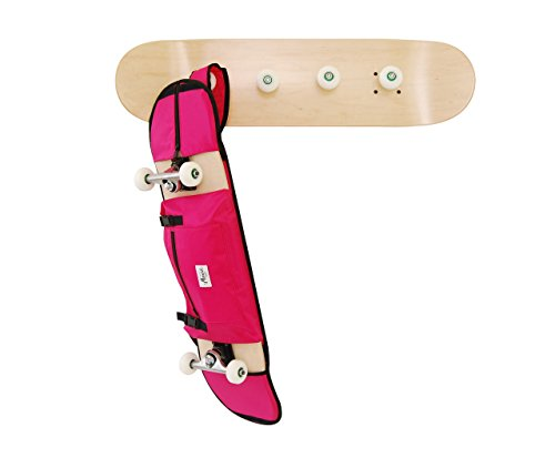 Garderobenleisten skate und Rucksack rosa für 7.5