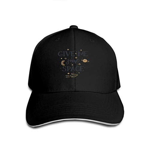 Cowboy Baseball Caps Unisex Trucker Style Hats give me Some Space Quote Slogan Space Galaxy Theme Hand drawns give me Some Space Quote Slogan spac (Space Cowboys Kostüm)
