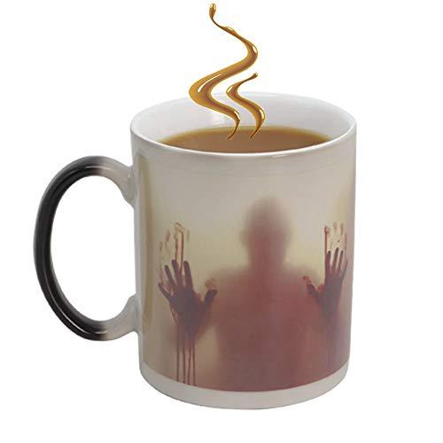 Farbwechsel Tasse,walking dead magische Keramik becher,Zombie Mug ,lustige -