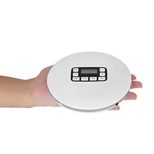 Richer-R Lecteur CD avec Sortie Audio de Haute qualité, Portable Antichoc Bluetooth HiFi stéréo Lecteur de Musique CD avec écouteurs EU Plug... 12