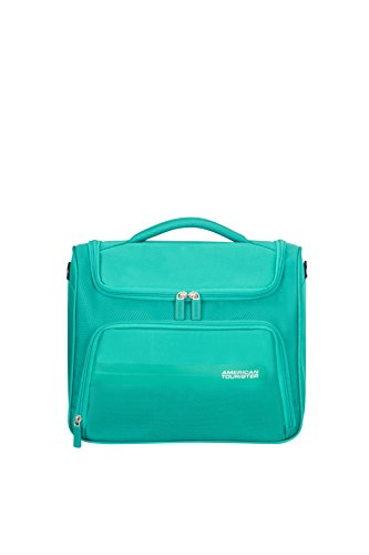 American Tourister Tote (American Tourister Summer Voyager Kulturtasche, Peacock Green)