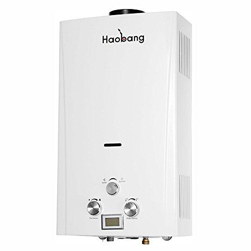Haobang Scaldabagno Senza Serbatoio de Alta Efficienza, Special Gas,...