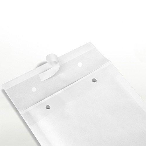 50 x Luftpolstertaschen Gr. I/9 (320x455 mm) DIN A3 WEISS - Marken-Qualität von OfficeKing® (A3-umschläge Weiß)