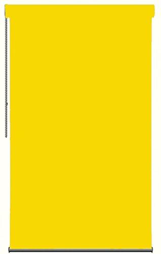 DECORACION NUEVO ESTILO-Estor enrollable KORA en tejido translucido de color 516 Amarillo, medida 125x250 (varias medidas y colores)