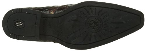 New Rock M 2246 S28, Mocassins Homme Rouge (Red)