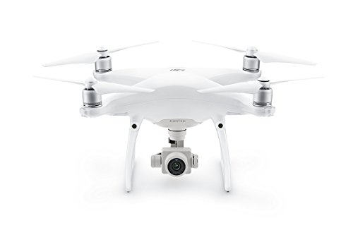 Preisvergleich Produktbild DJI Phantom 4 Pro - Drohne mit Videoübertragungsreichweite von 7 km, Videos bei 60 fps oder H.265 4K Videos bei 30 fps, beides mit einer Rate von 100 Mbit/s. - Weiß