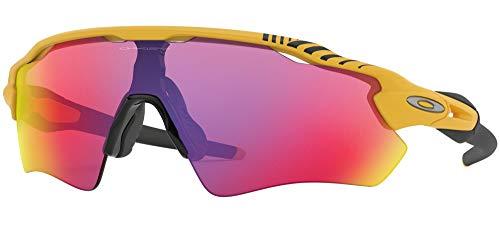 Ray-Ban Herren 0OO9208 Sonnenbrille, Mehrfarbig (Matte Yellow), 40