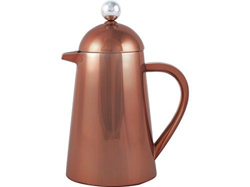 La Cafetiereère Thermique Kaffeebereiter, Isoliert, französische Kaffeepresse, Stahl, Kupfer, 8...
