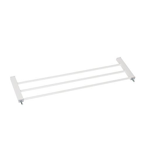 Hauck Verlängerung 21 cm für Türschutzgitter Open N Stop/Autoclose N Stop/Open N Stop KD/kombinierbar mit Y-Spindel für Geländer/ohne Bohren, weiß