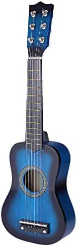 TOYANDONA 23 Inch Kids Guitar Wooden Children Guitar Toy Music Learning Educational Instrument Children Develo