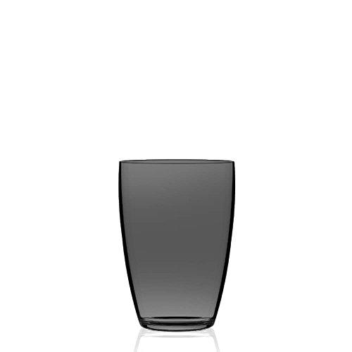 Italesse Etoilé Cristal, Verre à eau cc. 400 transparent noir