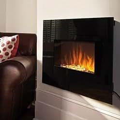 jml luxury flame elektrischer wandkamin mit flammenambiente und fernsteuerung ohne ethanol. Black Bedroom Furniture Sets. Home Design Ideas