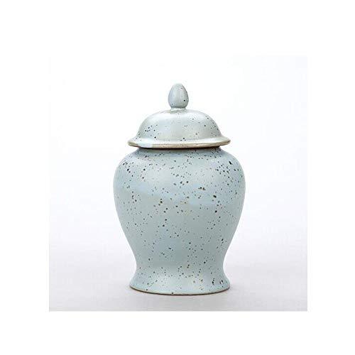 CHUJIAN Haustier Sarg, enge Verwandte und liebes Haustier Souvenir Elite Pet Feuerbestattung Emaille, Keramik Point Peacock Blue10.5 cm) (Color : Light blue, Size : 10.5 * 8.5cm) -