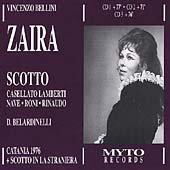Bellini: Zaira [Import anglais]