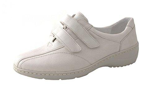 Waldläufer Damen Klettschuh Kya 607302-172-111 pigalle perl Weiß