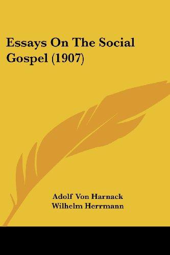 Essays on the Social Gospel (1907)