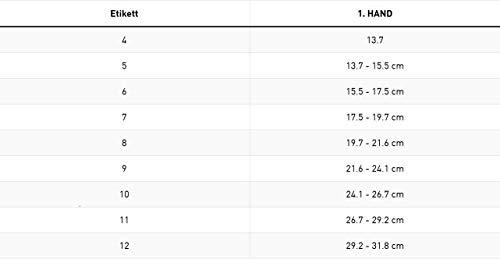 adidas - Fu�ball Feldspieler Handschuh Kinder & Erwachsene, Schwarz 690, Gr. 7