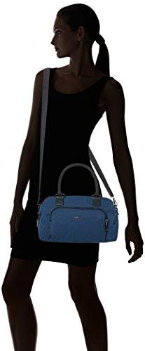 Kipling - Alecto, Borse Baguette Donna Blu (Satin Blue C)
