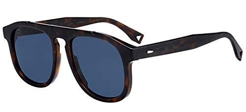 Fendi Sonnenbrillen ANGLE FF M0014/S DARK HAVANA/BLUE Herrenbrillen