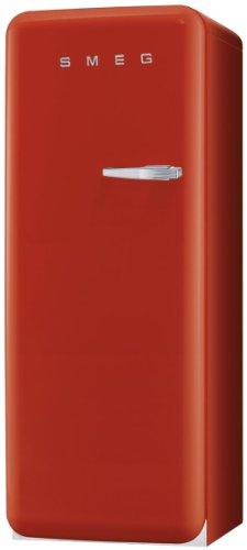 Smeg CVB20LR Standgefrierschrank / Linksanschlag / Nutzinhalt**** 170 Liter / rot