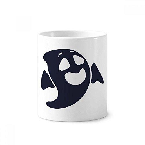 DIYthinker Geist Voll Lachen Hallowmas Keramik Zahnbürste Stifthalter Tasse Weiß Cup 350ml Geschenk 9.6cm x 8.2cm hoch Durchmesser