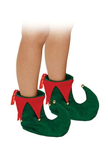 Islander Fashions Adult Fancy Deluxe ELF Schuhe Unisex Weihnachtsfeier Tragen Santa Kost�m Zubeh�r One Size
