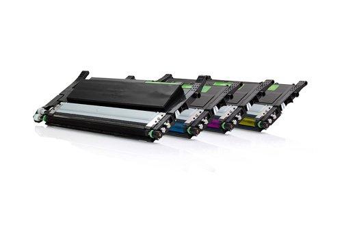 Preisvergleich Produktbild Inkadoo® Toner passend für Samsung Xpress C 460 W ersetzt Samsung CLP-360 CLT-P406C - 4x Premium Drucker-Kartusche Kompatibel - Schwarz, Cyan, Magenta, Gelb - 1x1500 & 3x1000 Seiten