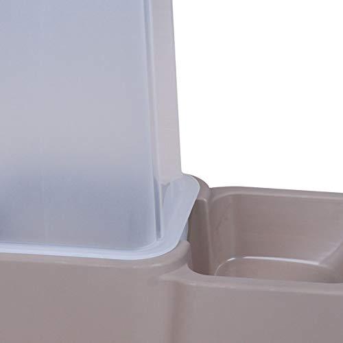Urban Living Spender für WasserundHunde- / Katzenfutter, 3,5l, Grau - 3