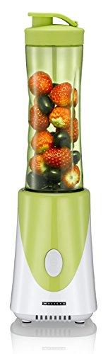 Melissa Mix & Go - Blender Mixeur Smoothies-Maker Milk-Shakes Jus de Fruits - Bouteille 0,6 Litres 250 Watt