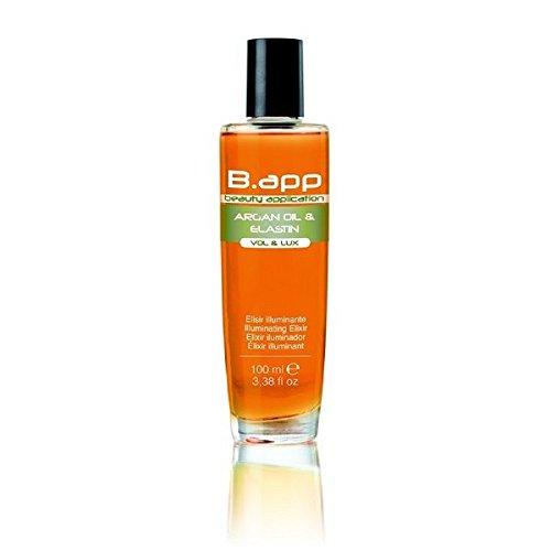 Gamme Professionnelle B.APP Volume et Brillance Elixir à l'huile d'argan et à l'élastine100 ml