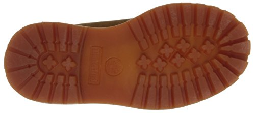 Timberland 6in Prem Wp, Unisex-Kinder Stiefel Braun (Rust With Honey)