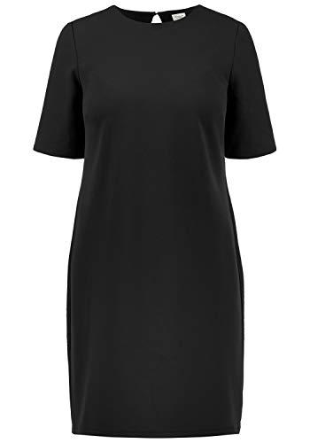 ONLY Estelle Damen Abendkleid Cocktailkleid Festliches Kleid Mit Rückenausschnitt, Größe:S, Farbe:Black