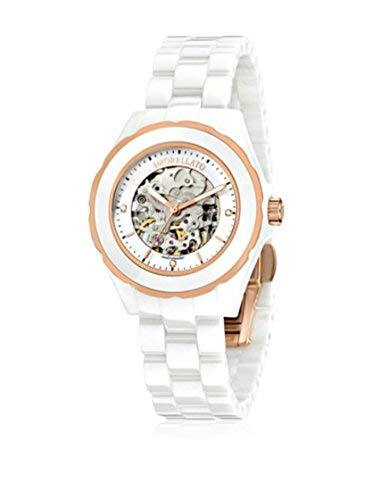 Dial Women's Morellato R0153116507 Automatic Watch Display And Ceramic White Time Bangle Analogue With jLqAc5RS43