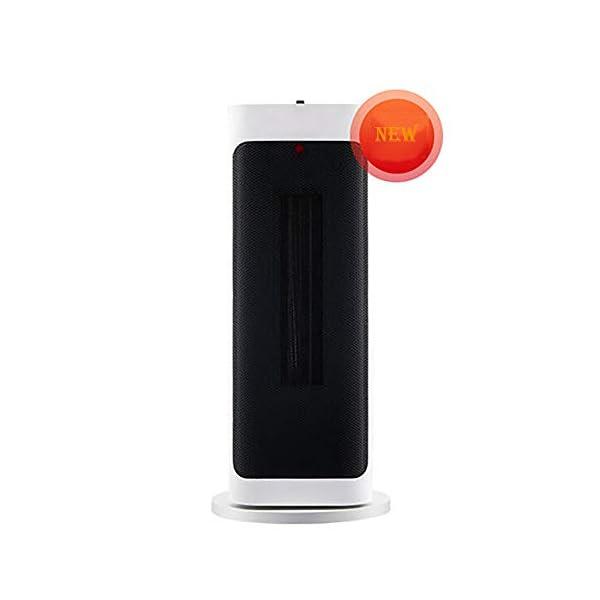 LANLAU Calentador, Ventilador De Calentador Personal Eléctrico con Oscilación Automática, Viento Cálido/Frío para… 1