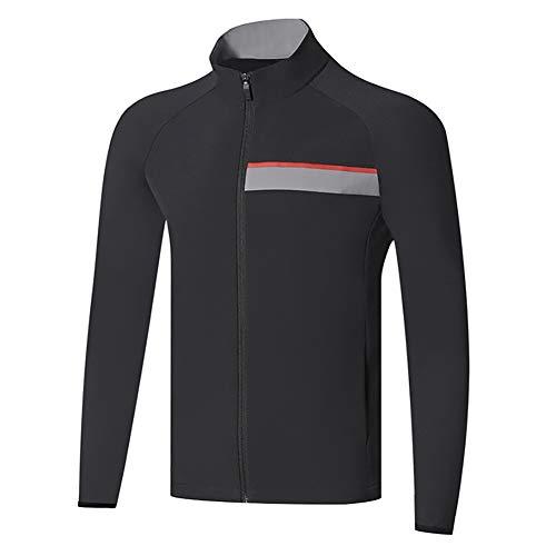 AFDLT Tennis Wettbewerb Ausbildung Polo Hemd,Männer Golf Jersey,Badminton Sport Long Sleeve,Draussen Casual Baseball T-Shirts,1,XL
