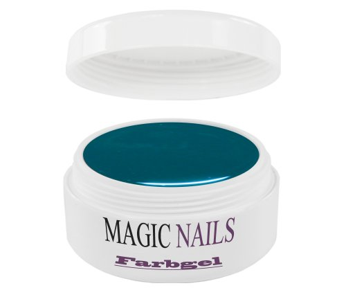 Magic Items Gels UV – – Bleu pétrole qualité studio 5 ml