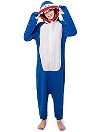 YLOVOW Unisex Adultos Onesies Pijamas para Cosplay Animales De Vestuario Ropa De Dormir Halloween Y Navidad