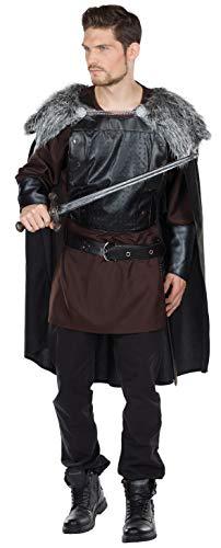 Barbar Herren Kostüm - Rubie's Wolfskrieger Kostüm Größe 50 Herren Karneval Wikinger Krieger Fasching Nordmänner Barbaren
