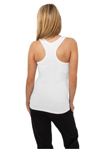 Débardeur pour femmes Urban Classics Ladies Tanktop dans 9 Couleurs | Tailles XS - XL Blanc