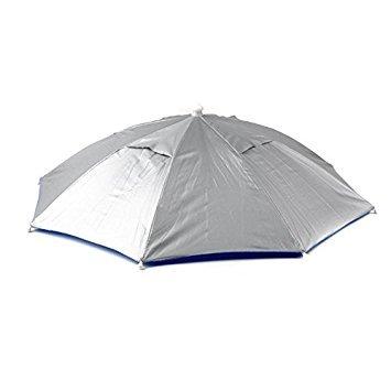 Imagen de toogoo  de paraguas sombrero de paraguas de sol para caza de pesca de golf sombrero plegable de deporte al aire libre alternativa