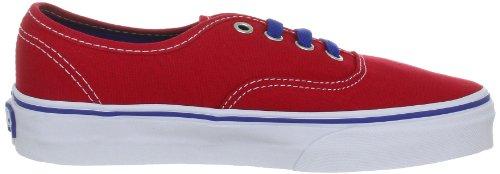 Vans Authentic VQER6M3, Sneaker unisex adulto Rosso (Rot (true red/true blue))
