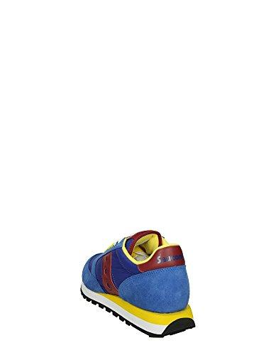 Saucony Blu gialla Basse Sneakers Jazz Uomo zpaq6Zz