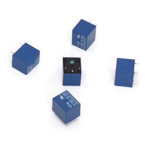 rele' di potenza - SODIAL(R) 5 pezzo 5V DC Mini Power Relay PCB Tipo rele' di potenza