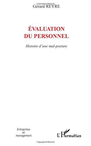 Evaluation du personnel : Histoire d'une mal-posture par Gérard Reyre